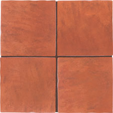Keramia Tile - Terra Nature 12x12 Cotto Caldera Extruded Glazed Porcelain