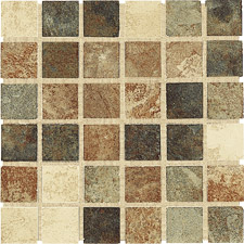 Keramia Tile - Tibet Series 12x12 Multicolor Mosaic Extruded Glazed Porcelain Tile