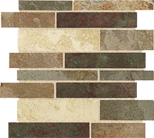 Keramia Tile - Tibet Series 12x12 Mix Mosaico Extruded Glazed Porcelain Tile