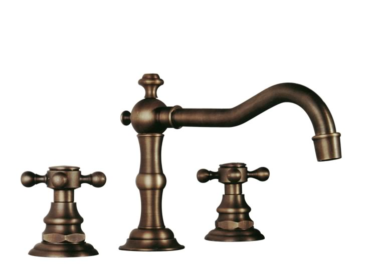Dreamline Faucets - Antique Bathroom Three Hole vanity Faucet DLFBJ-6912-AB