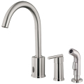 Hands-Free Dual Function Kitchen Faucets