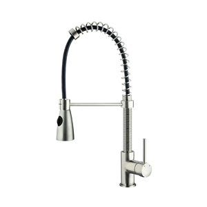 Vigo Kitchen Faucet - Stainless Steel Pull-Out Spray Faucet VG02003ST